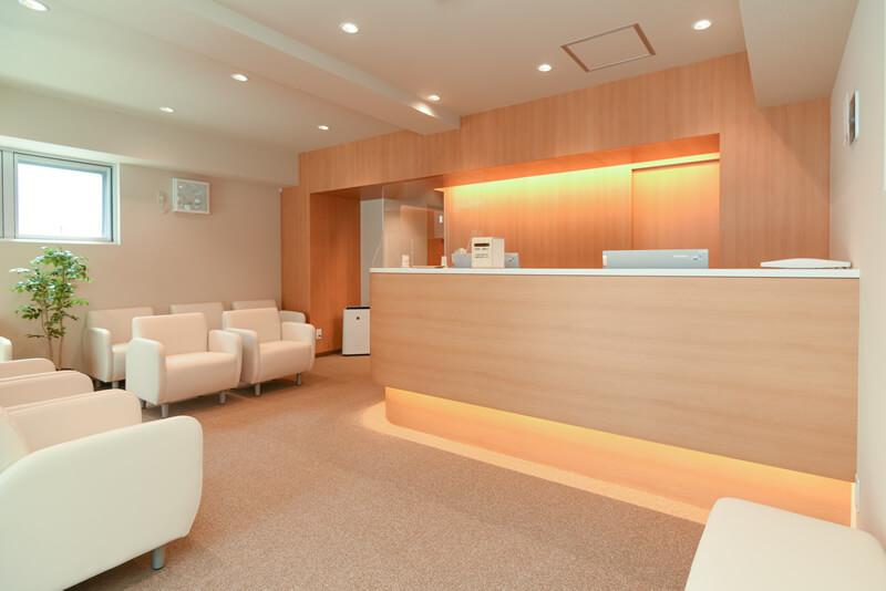 上石神井メンタルクリニック待合室